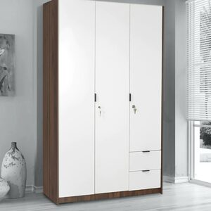Castor Three Door Wardrobe