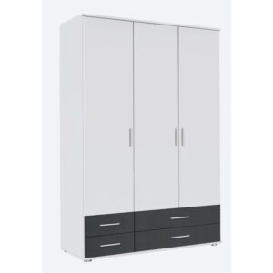 Conner Three Door Wardrobe