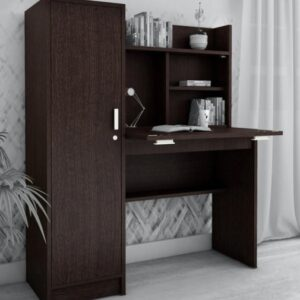 Fiona PC Study table with mini wardrobe