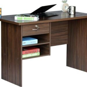 Eros PC table with storage and drawer